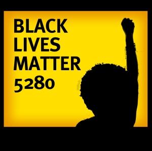 Black Lives Matter Logo - Yellow 9